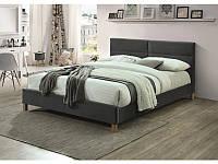 Ліжко SIERRA VELVET 160 сірий (Signal), фото 1
