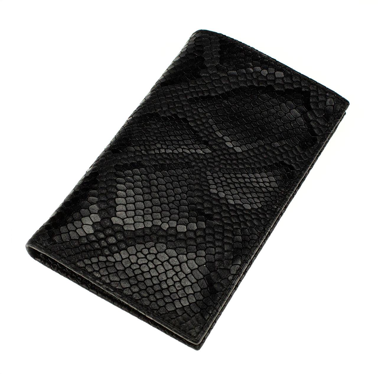 Мужской бумажник кожаный черный Eminsa 1083-52-1