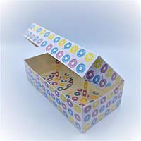 Упаковка для 2-х пончиков 100 штук, фото 1