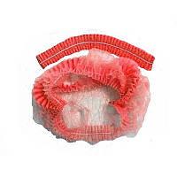 Шапочка нетканая Ampri Eco Plus 04021-М 100 Штук Красная