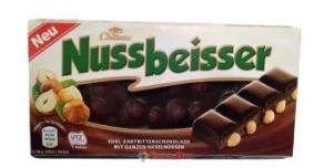 Шоколад Chateau Nussbeisser с целым фундуком 100 г