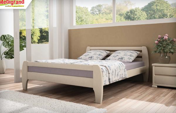 Ліжко дерев'яна Мілан Мебигранд