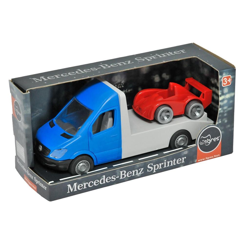 "Автомобіль ""Mersedes-Benz Sprinter"" евакуатор,синій №39661/Тигрес/"