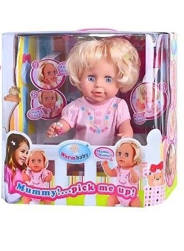 Лялька сенсорна на бат-ці, рухає руками і головою,в кор-ці,38х36х19см №RT05065(6)