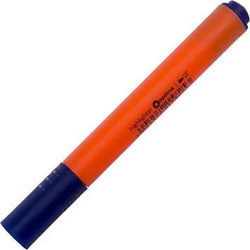 "Текстмаркер ""Optima"" №O15825 2-3мм трикут.,помаранчевий(10)"
