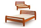 Ліжко дерев'яна Мілан Мебигранд, фото 2
