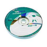 СD-R Диски Videx Mamba 700mb 52x Bulk (10шт.)