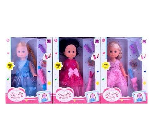 Лялька 30см,плойка,бігуді,3 вида,в кор-ці,20х32,5х9см №30099(24)