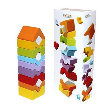 Іграшка дерев.Пірамідка Cubika №LD-11/14996