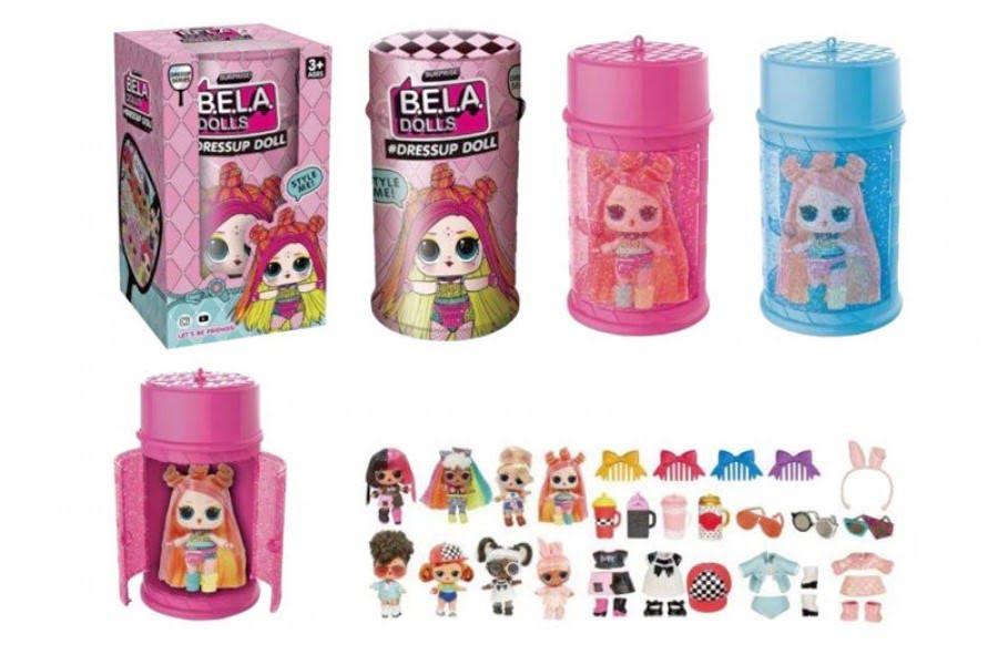 """Герої """"Bela Dolls"""" в кор-ці,8х8х8см №BL1155(72)(144) КІ"""