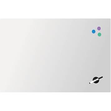 "Дошка ""Axent"" №9615-21-A магнітно-маркерна,скляна,60х90см,біла"