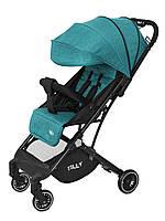 Детская прогулочная коляска Tilly Bella с амортизацией T-163 Pear Green +дождевик S