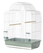 Клітка для птахів Sonia 3 WHITE INTER ZOO (Інтер Зоо) біла, 54*34*75 см