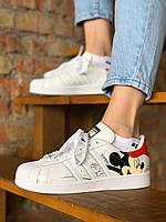 Жіночі кросівки Adidas Superstar, Репліка, фото 1
