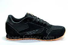 Кроссовки мужские в стиле Reebok Classic Leather 'Concept Sample' Black\Orange, фото 2