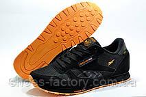 Кроссовки мужские в стиле Reebok Classic Leather 'Concept Sample' Black\Orange, фото 3