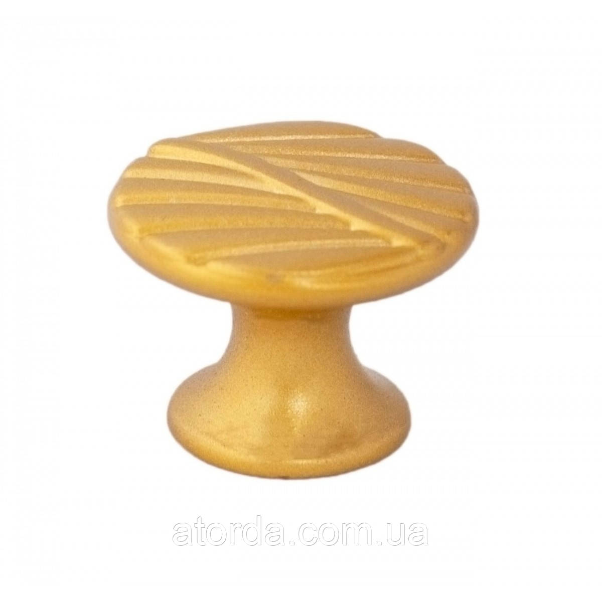 Ручка мебельная Ozkardesler  ZUMRE DUGME 6089-04 Матовое золото