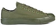 Кеды Converse All Stars Monohrome Green (зеленые) 35