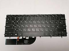 Клавиатура для Dell XPS 15 7590, 9550, 9560, 9570, Inspiron 15-7558, 15-7568 series