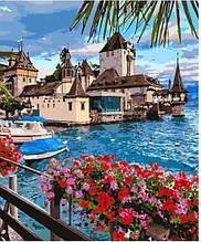Картина за номерами Чарівна Швейцарія