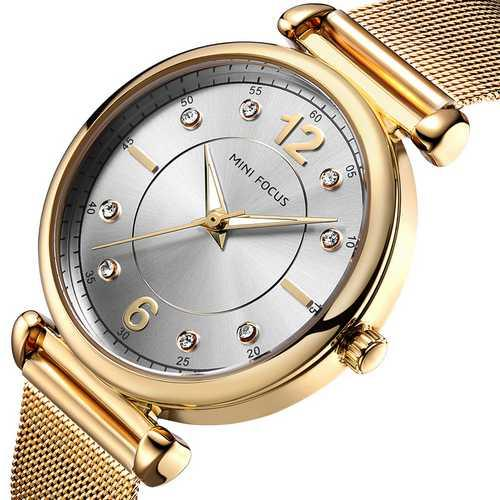Mini Focus MF0177L.01 Gold-Silver Diamonds