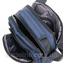 Сумка Мужская Планшет нейлон Lanpad 53212 blue, фото 3