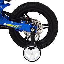 Велосипед детский PROF1 14 Д.  LMG14231 синий, фото 3