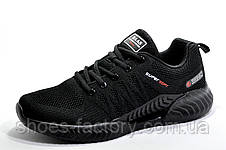 Летние мужские кроссовки Baas Climacool, Black (Бас), фото 2