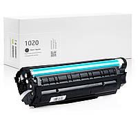 Картридж совместимый HP LaserJet 1020, лазерный, ресурс 2.000 копий, аналог от Gravitone (GTH-LJ-1020-BK)