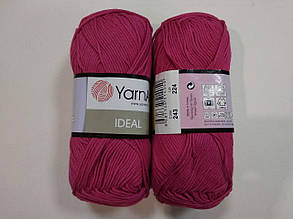 Пряжа Идеал  (Ideal) Yarn Art цвет 243 малиновый