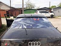 3д наклейка на заднее стекло авто, череп