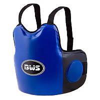 Защита груди односторонняя BWS (PVC, размер регулируется,цвета в ассортименте), фото 1