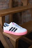 Жіночі кросівки Adidas Samba, Репліка, фото 1