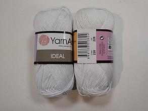 Пряжа Идеал  (Ideal) Yarn Art цвет 220 белый