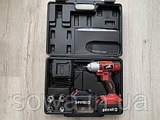 "Аккумуляторный гайковерт MAX MXIWCD24V : 24V  : 1/2 ""  :  280Нм  : Гарантия 1год, фото 2"