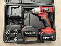 "Аккумуляторный гайковерт MAX MXIWCD24V : 24V  : 1/2 ""  :  280Нм  : Гарантия 1год"