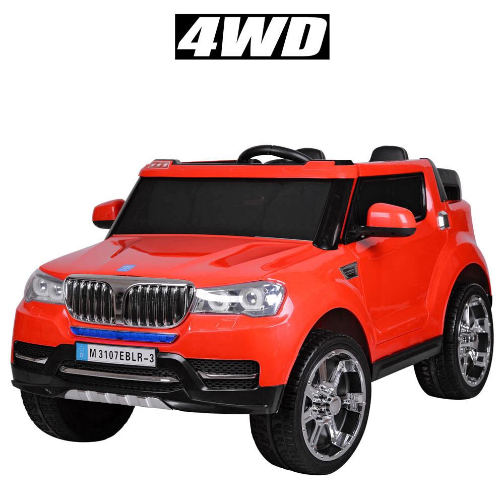 Детский электромобиль Bambi BMW красный M3107 EBLR
