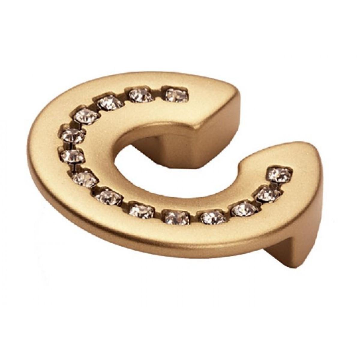 Ручка мебельная Ozkardesler TASLI RIGA 5398-04 32мм Матовое золото