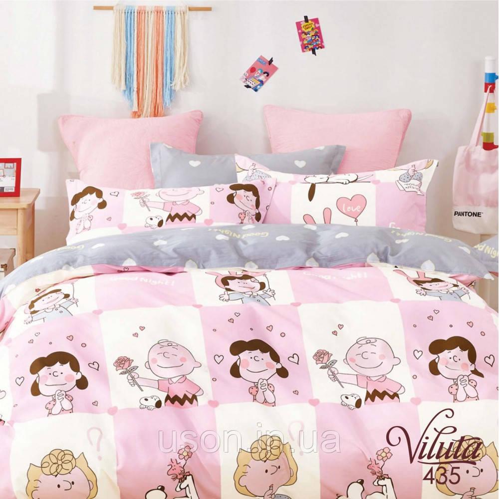 Комплект постельного белья подростковый  сатин ТМ Вилюта 435