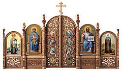 Іконостас різьблений 8 (4,5*2,5)