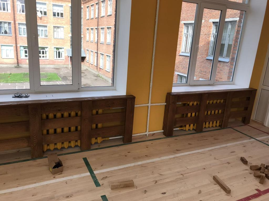 Экраны радиаторные деревянные