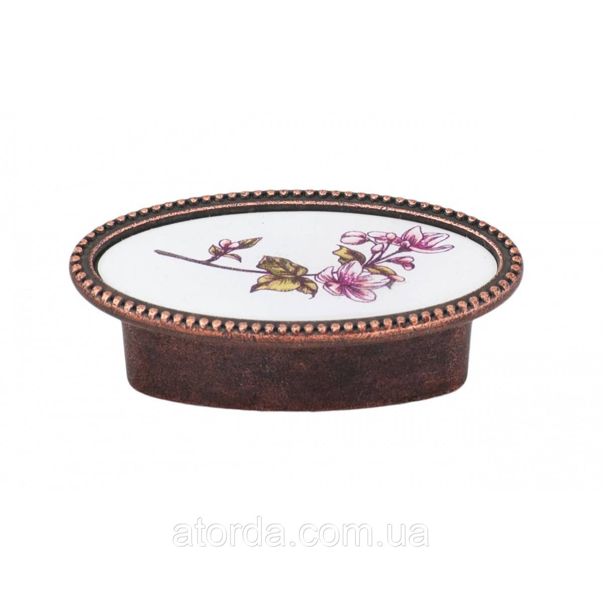 Ручка мебельная Ozkardesler 32мм SELVI DUGME 6085-09/064 Медь-Орхидея