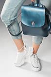 Рюкзак жіночий синій, фото 2
