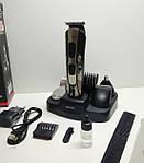 Професійна машинка для стрижки волосся і бороди Gemei GM-592 10-в-1, фото 5