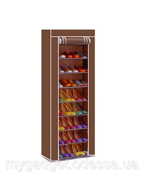 Складной тканевый шкаф для обуви T-1099