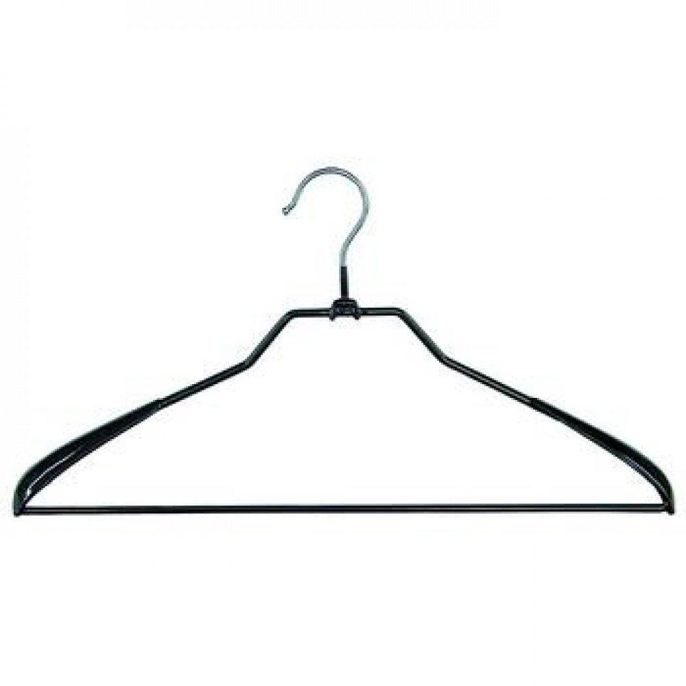 Плечики для одежды Мій Дім металлические 43.5 х 3.35 см чёрные