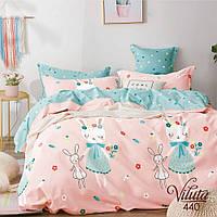 Комплект постельного белья подростковый сатин ТМ Вилюта 440