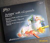 Пастель масляная мягкая профессиональная, 48 цветов, MOPV-48, MUNGYO