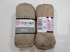 Пряжа Идеал  (Ideal) Yarn Art цвет 234 бежевый