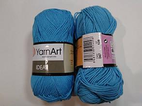 Пряжа Идеал  (Ideal) Yarn Art цвет 247 бирюзовый